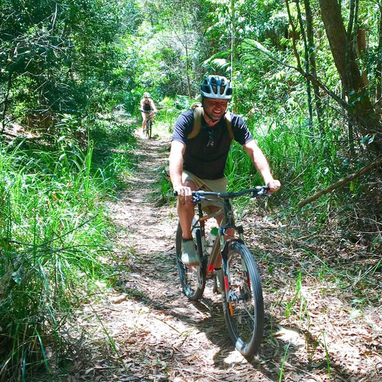 Mountain Bike Riding Team Building Acitivites Byron Bay
